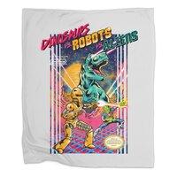 Dinosaurs vs. Robots vs. Aliens - blanket - small view