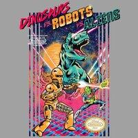 Dinosaurs vs. Robots vs. Aliens - small view