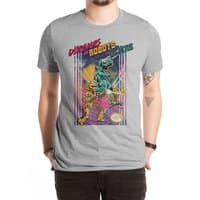 Dinosaurs vs. Robots vs. Aliens - mens-extra-soft-tee - small view