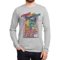 Dinosaurs vs. Robots vs. Aliens - mens-long-sleeve-tee - small view
