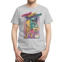Dinosaurs vs. Robots vs. Aliens - mens-regular-tee - small view