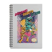 Dinosaurs vs. Robots vs. Aliens - spiral-notebook - small view