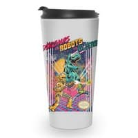 Dinosaurs vs. Robots vs. Aliens - travel-mug - small view