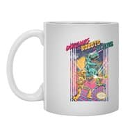 Dinosaurs vs. Robots vs. Aliens - white-mug - small view