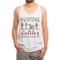 Ancient Rock - mens-triblend-tank - small view
