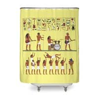 Ancient Rock - shower-curtain - small view