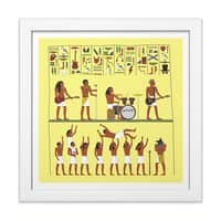 Ancient Rock - white-square-framed-print - small view