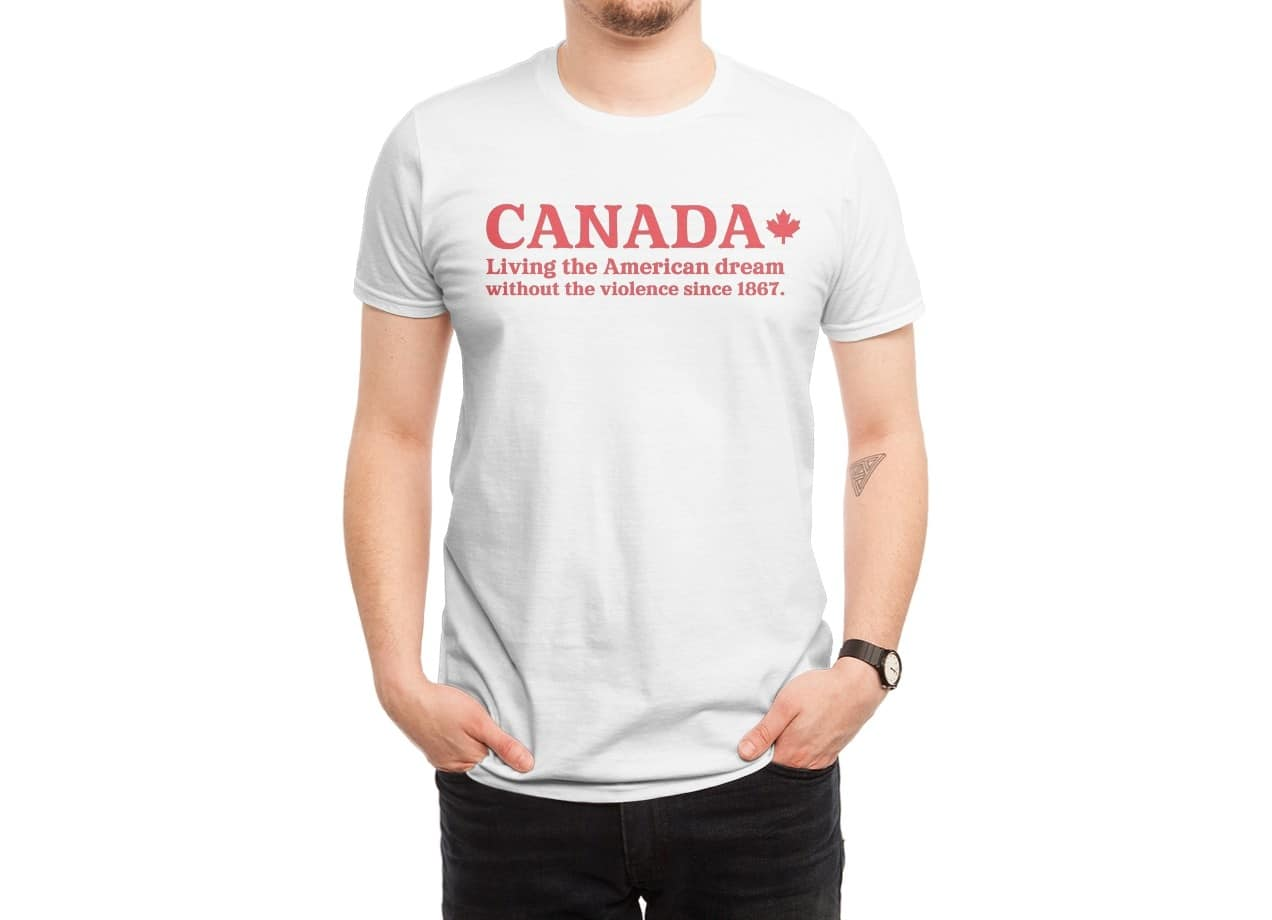 Canada Living The American Dream By Roderick Greene Mens