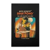 Beer Pong - vertical-stretched-canvas - small view