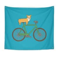Corgi on a Bike - small view