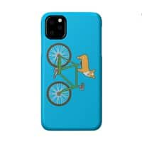 Corgi on a Bike - perfect-fit-phone-case - small view