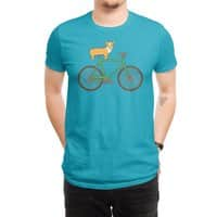 Corgi on a Bike - mens-regular-tee - small view