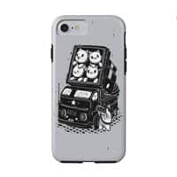 Rocket Cats - double-duty-phone-case - small view