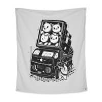 Rocket Cats - indoor-wall-tapestry-vertical - small view