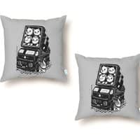 Rocket Cats - throw-pillow - small view