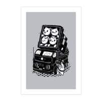 Rocket Cats - vertical-print - small view