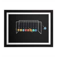 Planet System - black-horizontal-framed-print - small view