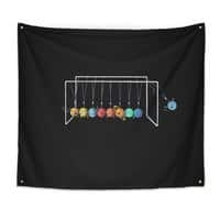 Planet System - indoor-wall-tapestry - small view