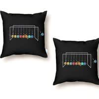 Planet System - throw-pillow - small view