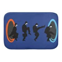 Ministry of Silly Portal - bath-mat - small view