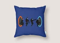Ministry of Silly Portal - throw-pillow - small view