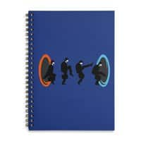 Ministry of Silly Portal - spiral-notebook - small view