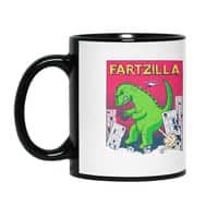 Fartzilla - black-mug - small view