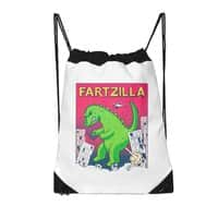 Fartzilla - drawstring-bag - small view