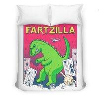 Fartzilla - duvet-cover - small view