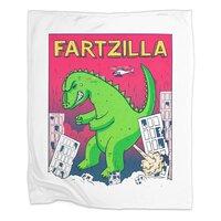 Fartzilla - blanket - small view