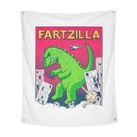 Fartzilla - indoor-wall-tapestry-vertical - small view