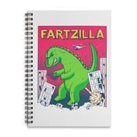 Fartzilla - spiral-notebook - small view