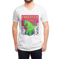 Fartzilla - vneck - small view