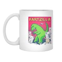Fartzilla - white-mug - small view