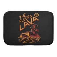 The Floor is Lava - bath-mat - small view