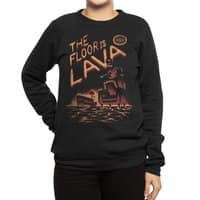 The Floor is Lava - crew-sweatshirt - small view
