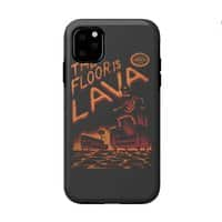 The Floor is Lava - double-duty-phone-case - small view