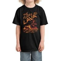 The Floor is Lava - kids-tee - small view