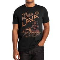 The Floor is Lava - mens-extra-soft-tee - small view