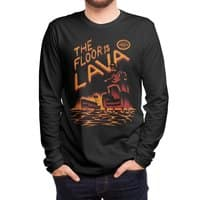 The Floor is Lava - mens-long-sleeve-tee - small view