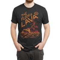 The Floor is Lava - mens-triblend-tee - small view