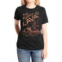 The Floor is Lava - womens-extra-soft-tee - small view