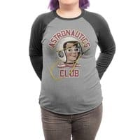 Astro Club - triblend-34-sleeve-raglan-tee - small view