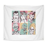 The Monster Mash - indoor-wall-tapestry - small view