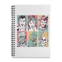 The Monster Mash - spiral-notebook - small view