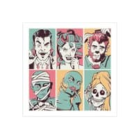 The Monster Mash - square-print - small view