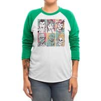 The Monster Mash - triblend-34-sleeve-raglan-tee - small view