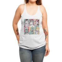 The Monster Mash - womens-triblend-racerback-tank - small view