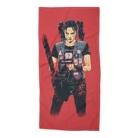 Zombie Slayer - beach-towel - small view