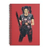 Zombie Slayer - spiral-notebook - small view